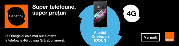Alcatel Onetouch IDOL 3 Orange