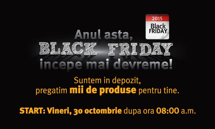 Altex start Black Friday 2015