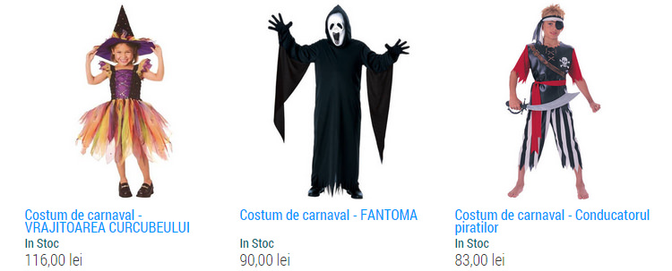 Costume copii Halloween EduClass