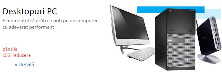 Desktop PC Zilele IT eMAG