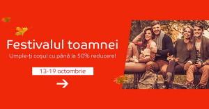 Reduceri de pana la 50% de Festivalul Toamnei la eMAG