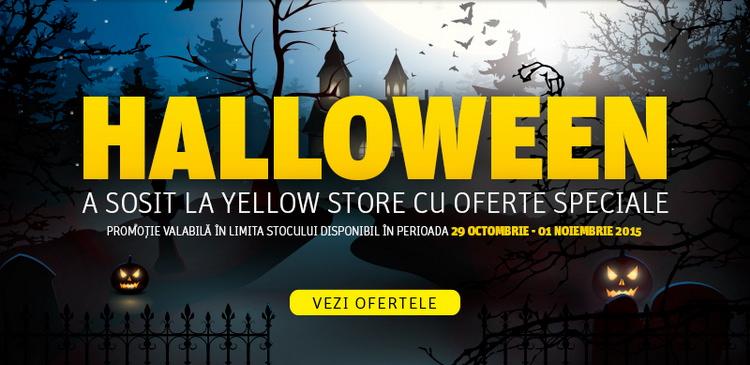 Halloween 2015 la YellowStore
