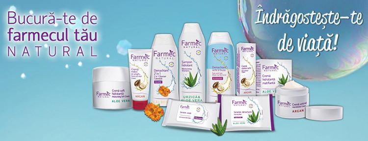Produse cosmetice gama Farmec