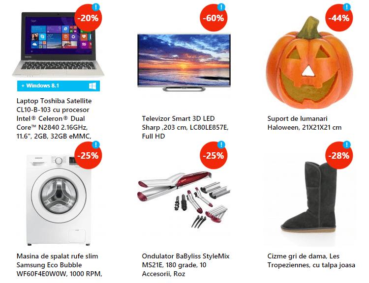 Reduceri eMAG Halloween 2015