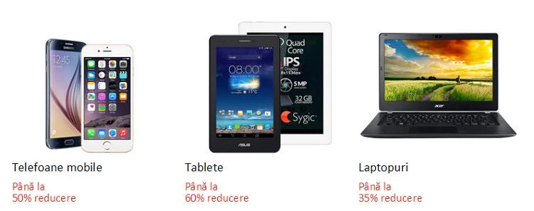 Telefoane tablete laptopuri resigilate eMAG
