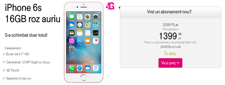 Telekom Apple iPhone 6s