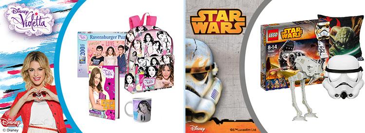 Violetta Star Wars articole Disney Elefant