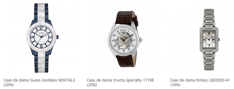 Ceasuri dama oferta eMAG