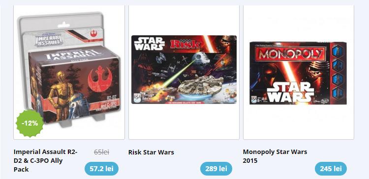 Jocuri societate Star Wars LexShop