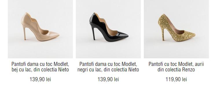 Pantofi eleganti Modlet