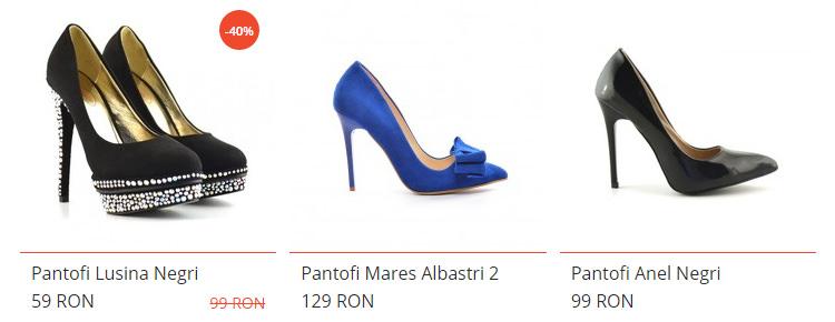 Pantofi eleganti dEpurtat