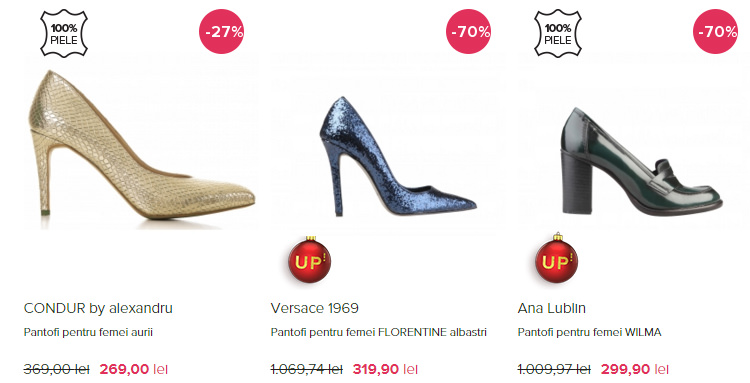 Pantofi Revelion FashionUP!