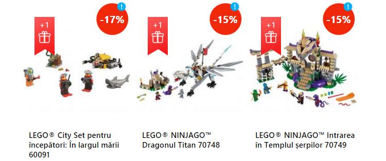 Oferte seturi Lego eMAGIA Sarbatorilor eMAG