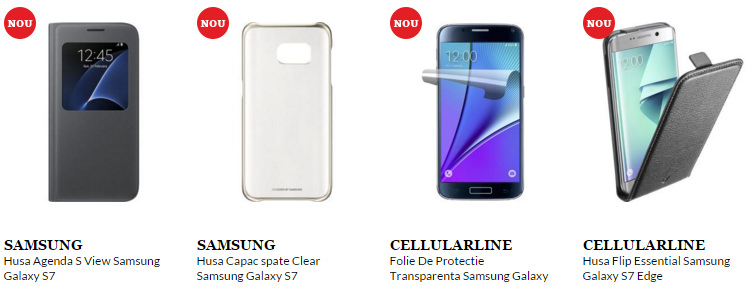Accesorii Samsung Galaxy S7 QuickMobile
