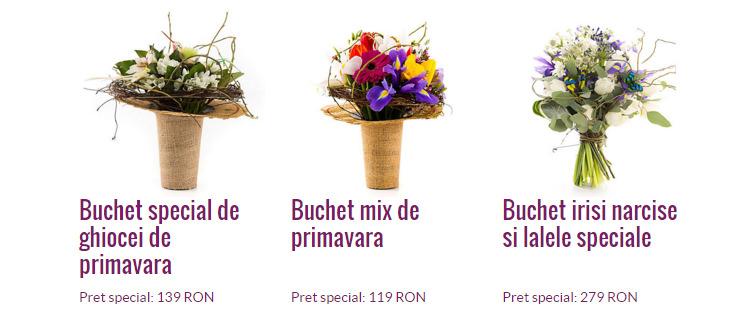 Aranjamente florale Flori de Lux