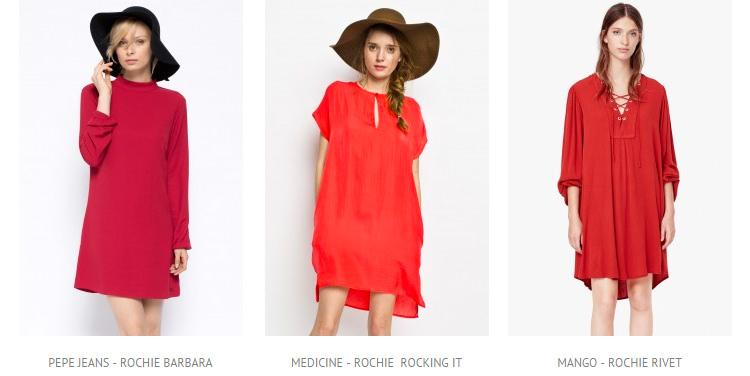 Rochii rosii Answear