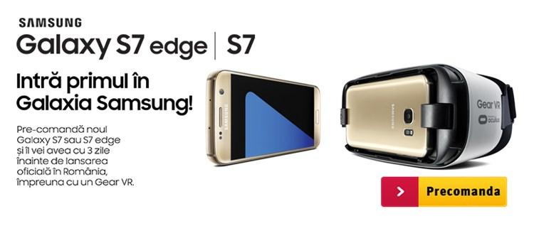 Samsung Galaxy S7 si S7 Edge la Altex