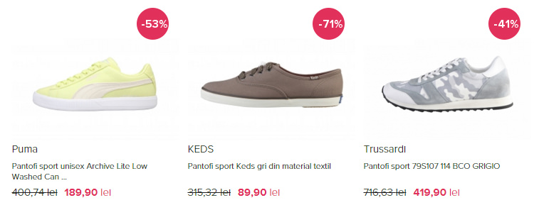 Pantofi sport dama FashionUP!