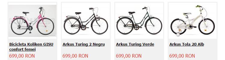 Biciclete ieftine Biciclop