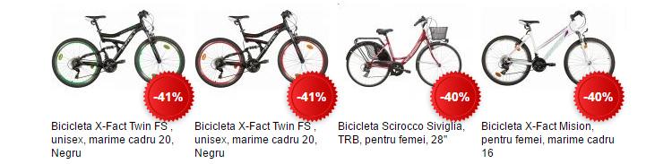 Biciclete ieftine eMAG