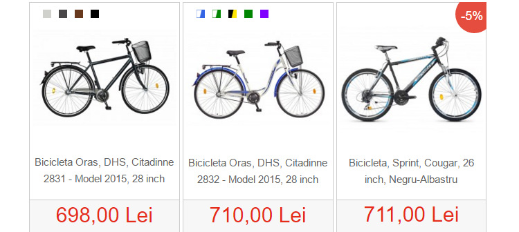 Biciclete ieftine SportAddict