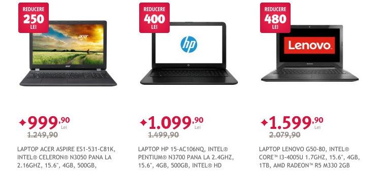 Laptopuri reduceri Paste Altex