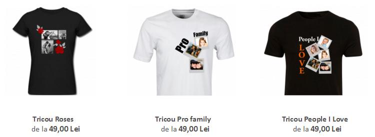 Tricouri personalizate Tiparo