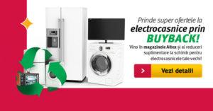 Oferte buy back televizoare de la Altex din iunie 2016