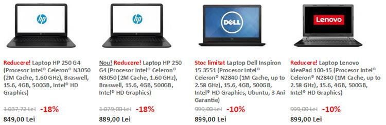 Laptopuri ieftine evoMAG