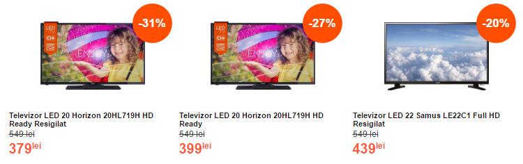 Oferte televizoare MarketOnline