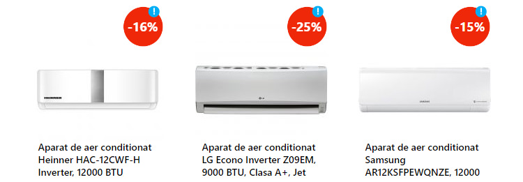 Aparate aer conditionat discount eMAG