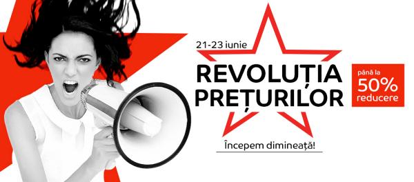 eMAG Revolutia Preturilor 21-23 iunie 2016