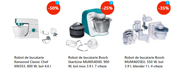 Roboti bucatarie discount eMAG