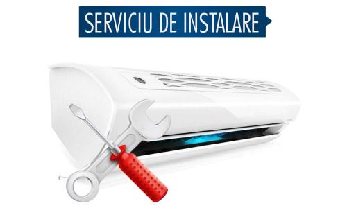 Serviciu instalare aer conditionat Flanco