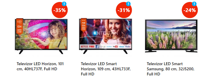 TV reducere Revolutia Preturilor iunie 2016 eMAG