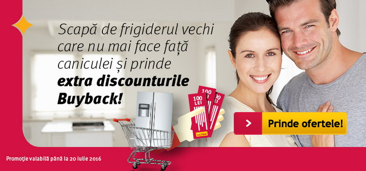 Altex Buy Back frigidere