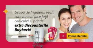 Reduceri prin programul Buy Back frigidere la Altex