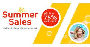 Summer Sales la eMAG taie preturile cu pana la 75%