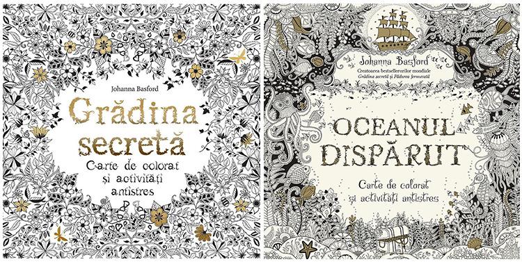 Carti colorat adulti Johanna Basford