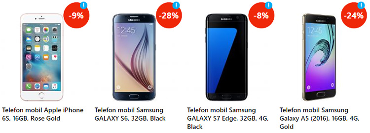 Smartphones Summer Sales eMAG