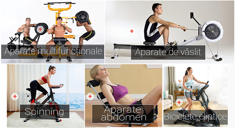 Aparate fitness SportAddict