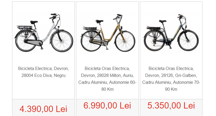 Biciclete electrice SportAddict