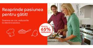 Cooking Days la eMAG aduce discounturi la articole pentru bucatarie