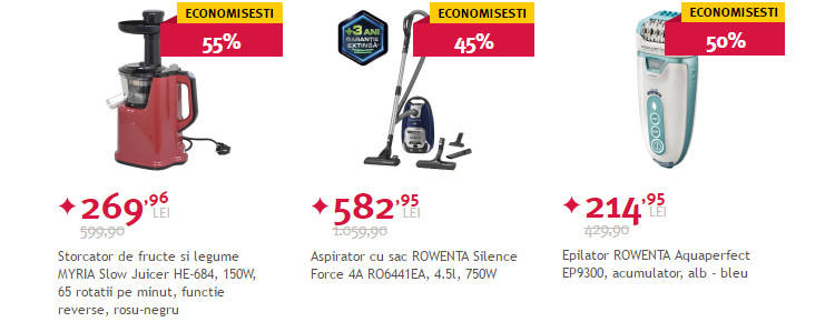 Electrocasnice mici Black Friday vara 2016 Altex