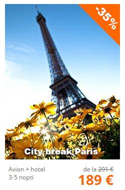 oferte city break paris