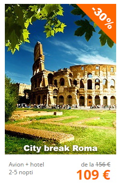 oferte city break roma