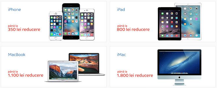 Oferte saptamana Apple la eMAG