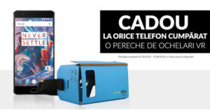 Promotii la telefoane la QuickMobile si ochelari VR cadou