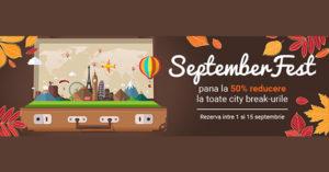 Reduceri la city break Vola cu ocazia SeptemberFest