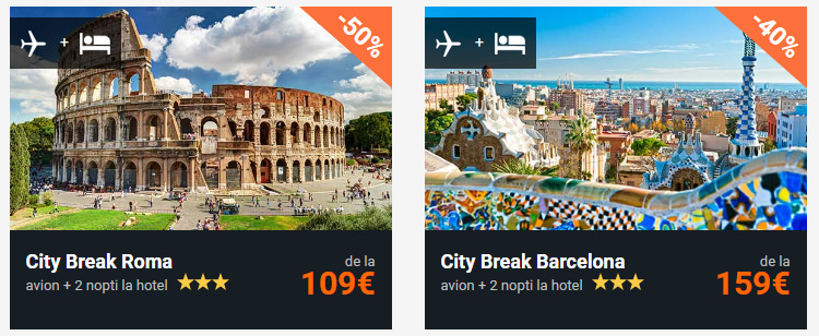 Variante reduceri city break Vola
